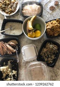 holiday meal leftovers