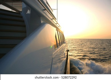 holiday on the motor yacht