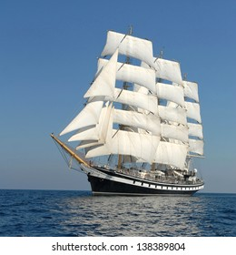 holiday on a sailing ship
