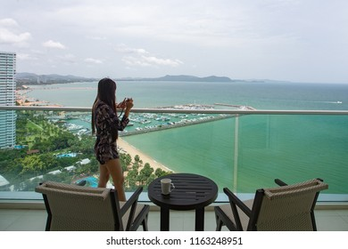 Holiday in Pattaya beach, Chonburi, Thailand