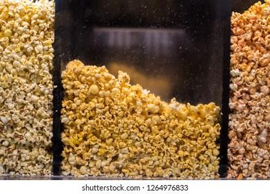 Holiday Popcorn Background
