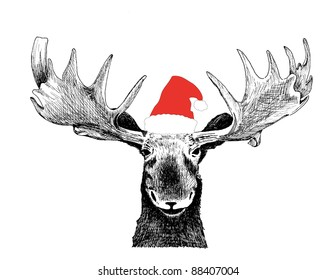 Free Deer Head Clip Art with No Background - ClipartKey