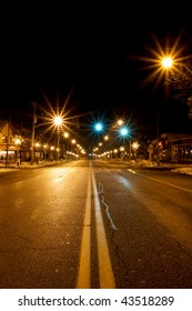 Holiday street scene