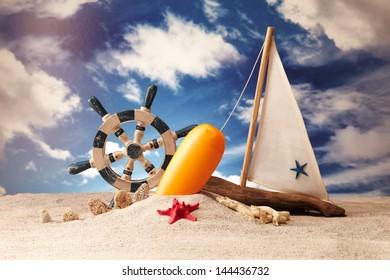 Holiday, summer, beach.