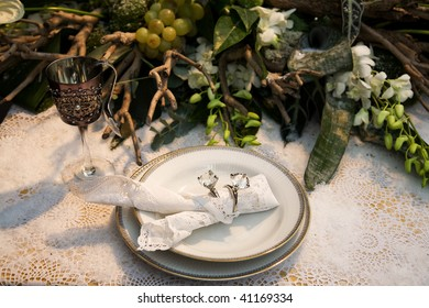 holiday table decoration for christmas  theme