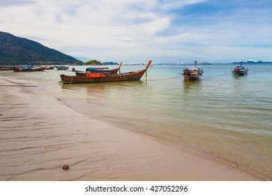 Holiday in Thailand - Beautiful Island of Koh Lipe with sandy beaches
