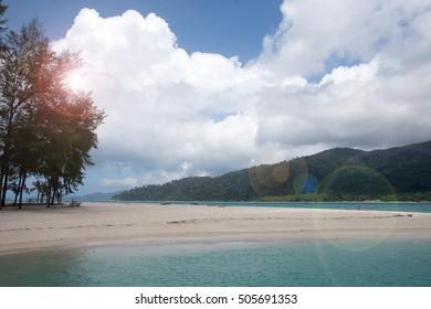 Holiday in Thailand - Beautiful Island of Koh Lipe Sunrise and S