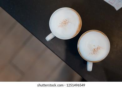 holiday two capuchino coffee