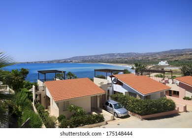 Holiday villas by the sea, Coral bay, Paphos, Cyprus