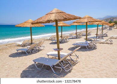 Holidays at Aegean Sea of Crete, Greece