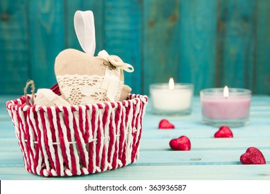 Holidays background. Valentines day background. Love Concept. Happy festive mood