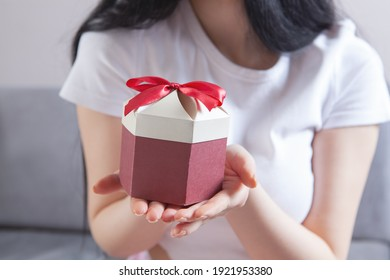 Holidays, celebration and women concept.