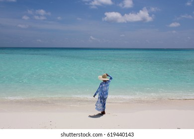 Holidays at Maldives beach