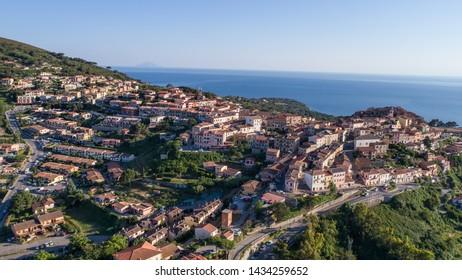 Holidays on Elba Island, village of Capoliveri. Tuscany (Italy)