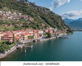 Holidays on lake of Como, little village of Musso