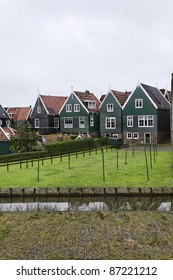 Holland, Marken (Amsterdam), typical dutch stone houses