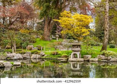 Holland Park, one of public London parks