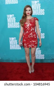 Holland Roden at the 2012 MTV Movie Awards Arrivals, Gibson Amphitheater, Universal City, CA 06-03-12