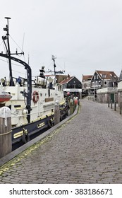 Holland, Volendam (Amsterdam); 9 October 2011, view of the port and the village - EDITORIAL