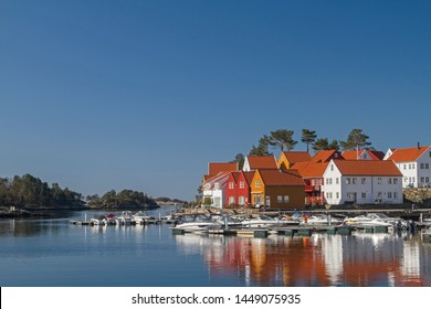 Hollen is a fishing village in the county of Vest-Agder in Norway and lies at the mouth of the Sogneelva River in the North Sea