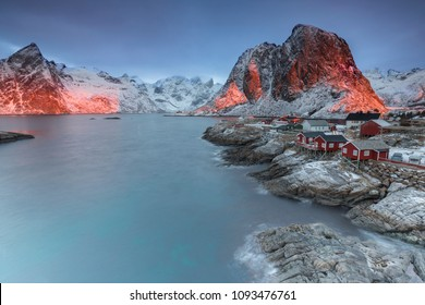 Holliday homes in Hamnoy, Norway