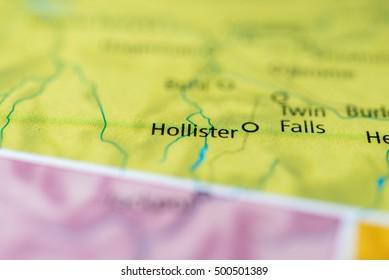 Hollister, Idaho, USA.