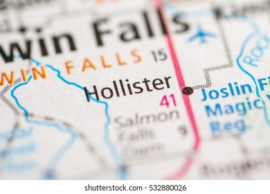 Hollister. Idaho. USA