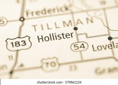 Hollister. Oklahoma. USA