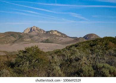 Hollister Peak from Elfin Forest, Los Osos, San Luis Obispo, California