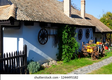 Holloko, a traditional village in Hungary, also a UNESCO World heritage site