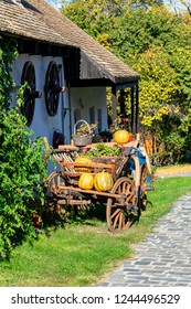 Holloko, a traditional village in Hungary, also a UNESCO World heritage site.
