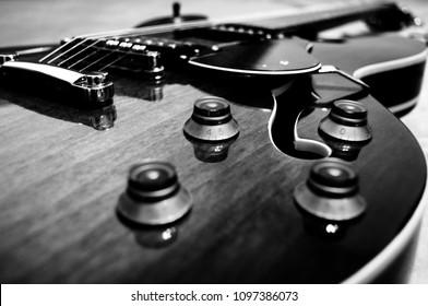 Hollow Body Jazz Guitar