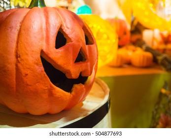 holloween pumpkin, use for decoration