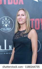 """Holly Amber Church attends  Skyline Entertainment's  """"The ToyBox"""" Los Angeles  Premiere at Laemmle's NoHo 7, North Hollywood, California on September 14th, 2018"""