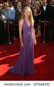 Holly Hunter  at the 60th Annual Primetime Emmy Awards Red Carpet. Nokia Theater, Los Angeles, CA. 09-21-08