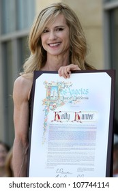 Holly Hunter  at the award ceremony honoring Holly Hunter with a star on the Hollywood Walk of Fame. Hollywood Blvd., Hollywood, CA. 05-30-07