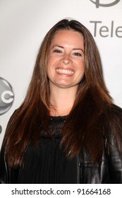 Holly Marie Combs at the Disney ABC Summer Press Tour, Beverly Hilton, Beverly Hills, CA. 08-07-11