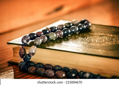Holly Quran with beads