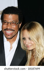 HOLLYWOOD - 9 APRIL: Lionel Richie, Nicole Richie at the ASCAP Awards held at the Kodak Theater in Hollywood - 09 April 2008