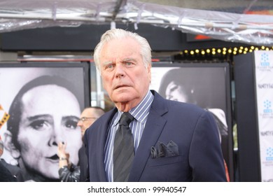 HOLLYWOOD - APRIL 12, 2012: Actor Robert Wagner walks the red carpet opening night of the TCM Classic Film Festival held at Grauman's Chinese Theatre Hollywood, CA April 12, 2012.