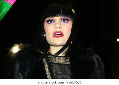 HOLLYWOOD - APRIL 18: Singer Jessie J after her appearance on Jimmy Kimmel Live at the Jimmy Kimmel Studios April 18, 2011 Hollywood, CA.