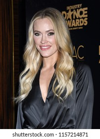 HOLLYWOOD - AUG 15:  Peta Murgatroyd arrives to the 2018 Industry Dance Awards  on August 15, 2018 in Hollywood, CA