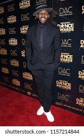HOLLYWOOD - AUG 15:  Stephen Boss, tWitch  arrives to the 2018 Industry Dance Awards  on August 15, 2018 in Hollywood, CA