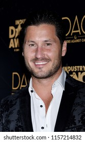 HOLLYWOOD - AUG 15:  Val Chmerkovskiy arrives to the 2018 Industry Dance Awards  on August 15, 2018 in Hollywood, CA