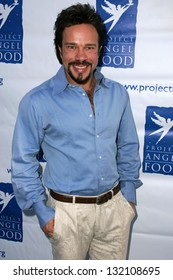 HOLLYWOOD - AUGUST 05: Domiziano Arcangeli at the 13th Annual Angel Awards hosted by Project Angel Food on August 05, 2006 at Project Angel Food in Hollywood, CA.