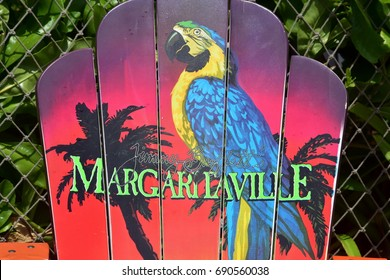 Hollywood Beach, Florida - July 12, 2017: A Margaritaville Resort recently opened its doors in Hollywood, Florida