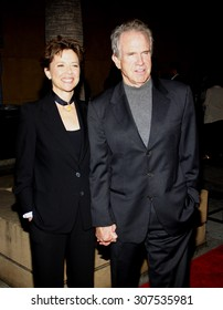 HOLLYWOOD, CA - APRIL 19, 2010: Warren Beatty and Annette Bening at the Los Angeles premiere of 'Mother and Child' held at the Egyptian Theater in Hollywood, USA on April 19, 2010.