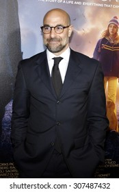 HOLLYWOOD, CA - DECEMBER 07, 2009: Stanley Tucci at the Los Angeles premiere of 'The Lovely Bones' held at the Grauman's Chinese Theater in Hollywood, USA on December 7, 2009.