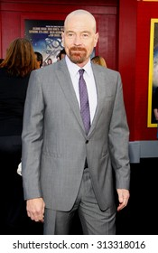 HOLLYWOOD, CA - JUNE 08, 2012: Bryan Cranston at the Los Angeles premiere of 'Rock of Ages' held at the Grauman's Chinese Theatre in Hollywood, USA on June 8, 2012.