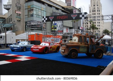 "HOLLYWOOD, CA- JUNE 18: General view of Disney's Pixar ""Cars 2"" premiere, held at El Capitan Theatre, June 18, 2011 in Hollywood,CA."